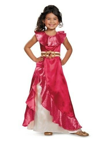 Disguise Elena Adventure Dress Classic of Avalor Disney Cost