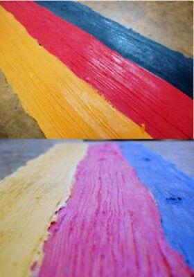 Tru Tex Vertical Concrete Stamp Texture Skin Set Weatherwood Wood Grain 3 Pc.