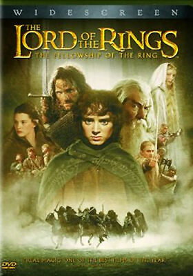 The Lord of the Rings: The Fellowship of the Ring (DVD, 2002, 2-Dis  - Disc Only