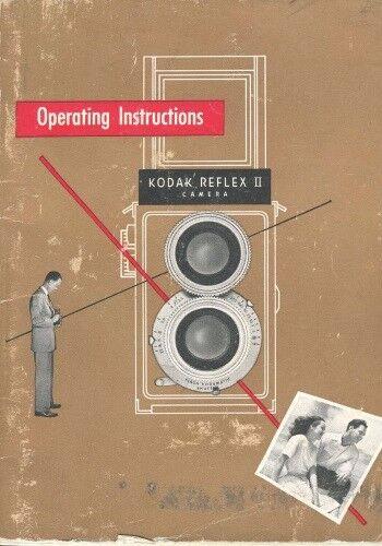 Kodak Reflex II Instruction Manual 1948