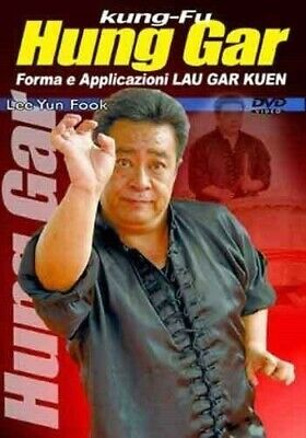 Hung Gar Kung Fu Forms & Applications DVD Lee Yun Fook tiger & crane