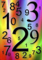Numerology reading.