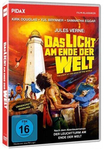 Jules Verne - Das Licht am Ende der Welt * DVD Abenteuer Kirk Douglas Pidax