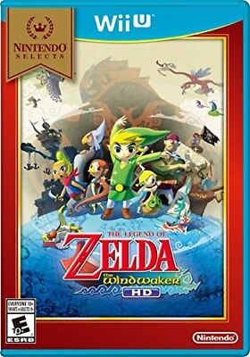 NINTENDO WII U GAME THE LEGEND OF ZELDA THE WIND WAKER HD NINTENDO SELECTS NEW