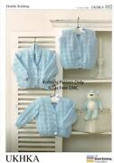 Hand Knitted Childs Cardigan