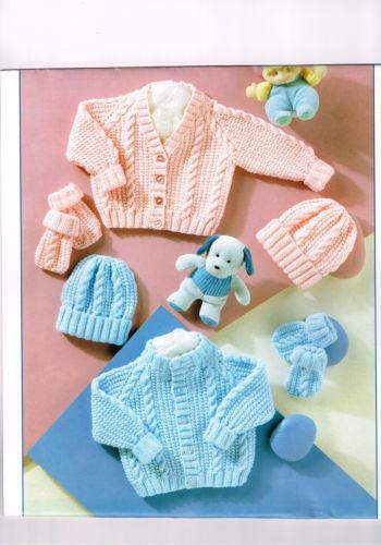 Baby Cable Knitting Patterns Ebay