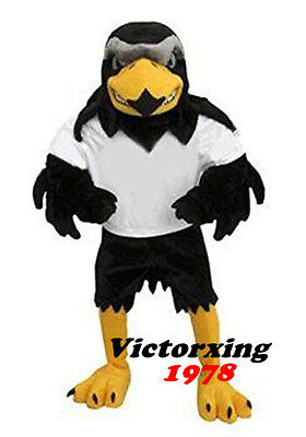 Eagle Falcon Mascot Costume Fancy Party Dress Suit Free Shipping