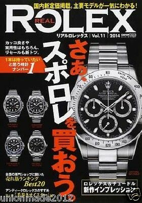 REAL ROLEX Vol.11 Japanese magazine catalog photo Book DAYTONA SUBMARINER F/S