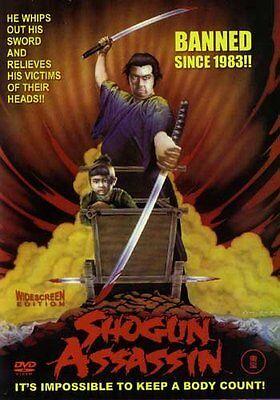 Shogun Assassin -Hong Kong RARE Kung Fu Martial Arts Action movie NEW