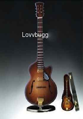 "Lovvbugg F-Hole Guitar Mini Musical Instrument for 18"" American Girl Doll Accessory"