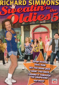 RICHARD-SIMMONS-SWEATIN-TO-THE-OLDIES-VOLUME-5-DVD-NEW-AEROBIC-WORKOUT-EXERCISE