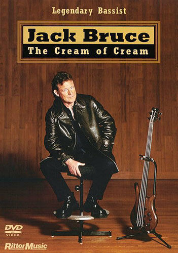 Jack Bruce Cream of Learn to Play Bass Guitar DVD Tutor