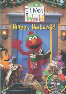 Elmo's World-Happy Holidays DVD-like new!
