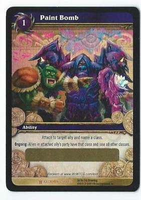 Used, 10 Pieces WOW TCG Unscratched Loot Cards PAINT BOMB  Icecrown New  for sale  Shipping to Canada