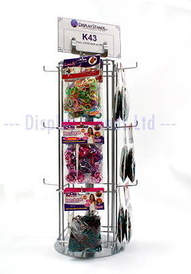 12 Hook Rotating Counter Top Retail Display Stand (K43)