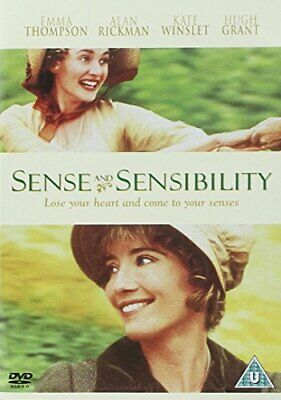 Sense and Sensibility (1998) Emma Thompson NewDVD