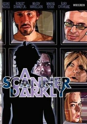 A SCANNER DARKLY VIDEO DVD-*DISC ONLY* WITH TRACKING