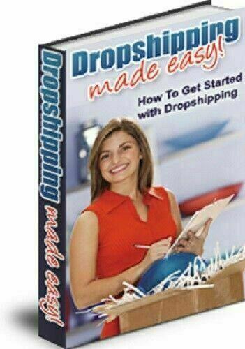 Dropshipping Made Easy PDF ebook with Full Master Resell Rights + 5 Bonus eBooks