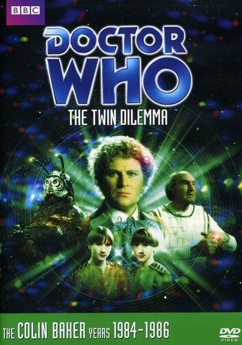 Doctor Who: The Twin Dilema (2010, REGION 1 DVD New)
