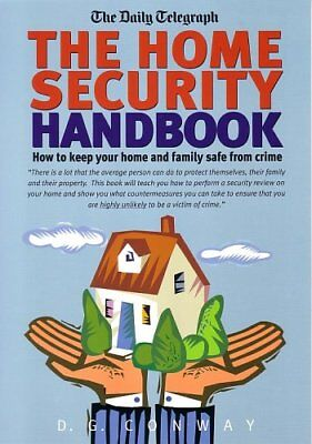 The Home Security Handbook By Des Conway for sale  Shipping to India