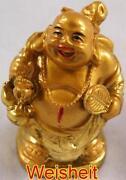Buddha Figur Gold
