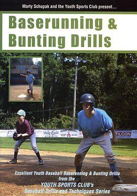 Little League Coaching : Baserunning & Bunting Drills - DVD by Marty (Baseball Baserunning Drills)