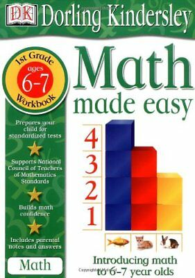 Math Made Easy  1St Grade Workbook  Ages 6 7