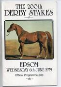 Epsom Derby Racecard