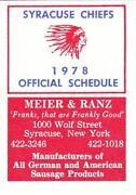 Syracuse Schedule