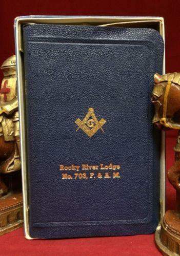 Vintage Masonic Bible Ebay
