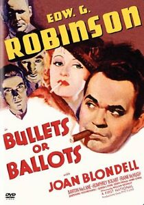 BULLETS OR BALLOTS DVD Edward G Robinson