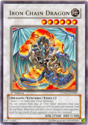 YUGIOH Iron Chain Deck Mr. Armstrong Complete 40 - Cards + Extra Card