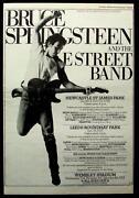 Bruce Springsteen Tour Poster