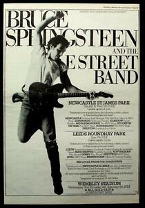 Bruce Springsteen Poster Ebay