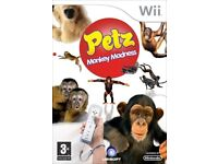 pet monkey madness on the wii