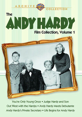 The Andy Hardy Film Collection: Volume 1 [New DVD] Manufactured On Demand, Ful