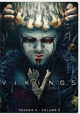 Vikings Season 5 - Volume 2 (DVD, 2019) Part 2  New & Sealed Fast Shipping