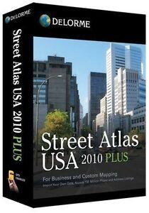 NEW-Delorme-Street-Atlas-USA-2010-Plus-for-PC-Windows-FULL-RETAIL