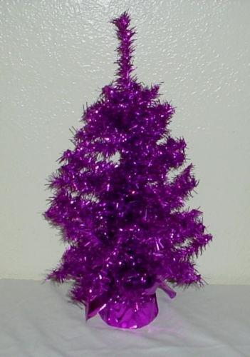 Purple Christmas Tree Ebay