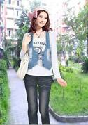 Jeansweste Vintage