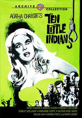 Ten Little Indians [New DVD] Manufactured On Demand, Full Frame, Mono Sound