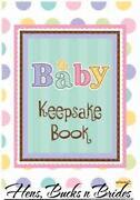 Baby Keepsake Book