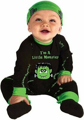 My First Halloween Lil' Monster Halloween Costume - Infant Size 0-6 Months - Lil Monster Baby Halloween Costume