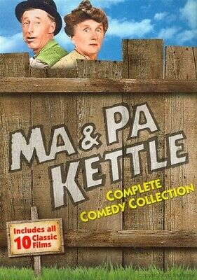 Ma and Pa Kettle: Complete Comedy Collection [New DVD] Slipsleeve Pack