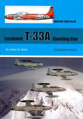T-33A (F-80) Shooting Star (Warpaint 88), used for sale  Poughkeepsie