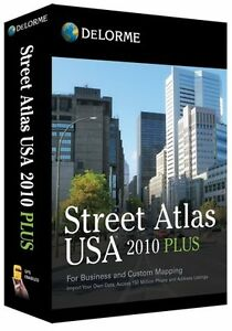 NEW-Delorme-Street-Atlas-USA-2010-Plus-for-PC-Windows-FULL-RETAIL