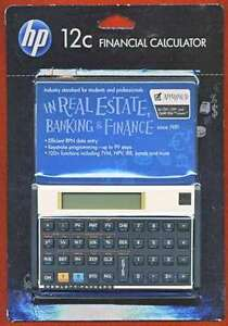 Calculatrice financière HP 12c GOLD Financicial calculator