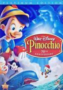 Disney Pinocchio DVD
