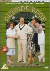 Outside Edge: The Complete Series (Series 1 2 & 3) - DVD NEW & SEALED (4 Discs)
