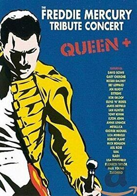 THE FREDDIE MERCURY TRIBUTE CONCERT (QUEEN+) [3 DVD] NEW & SEALED